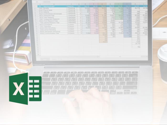 Microsoft Office Excel - Pretvorba v tabelo