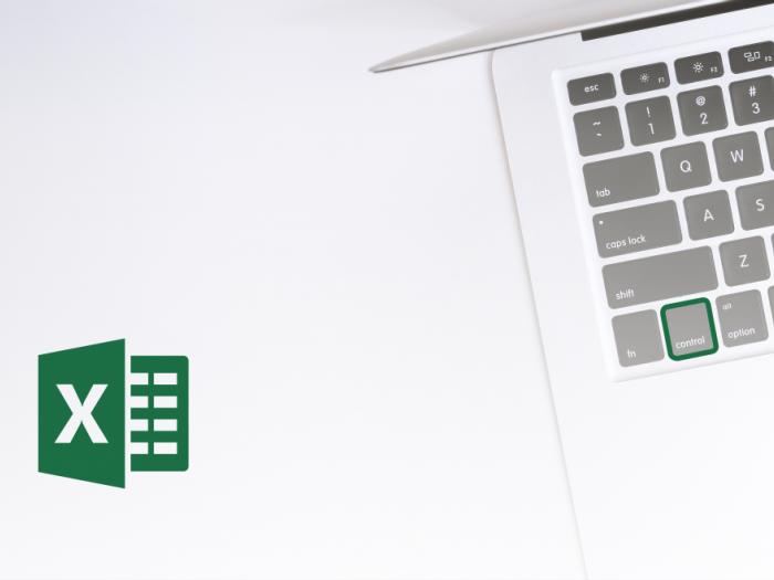 Microsoft Office Excel - Uporaba CTRL in smernih tipk